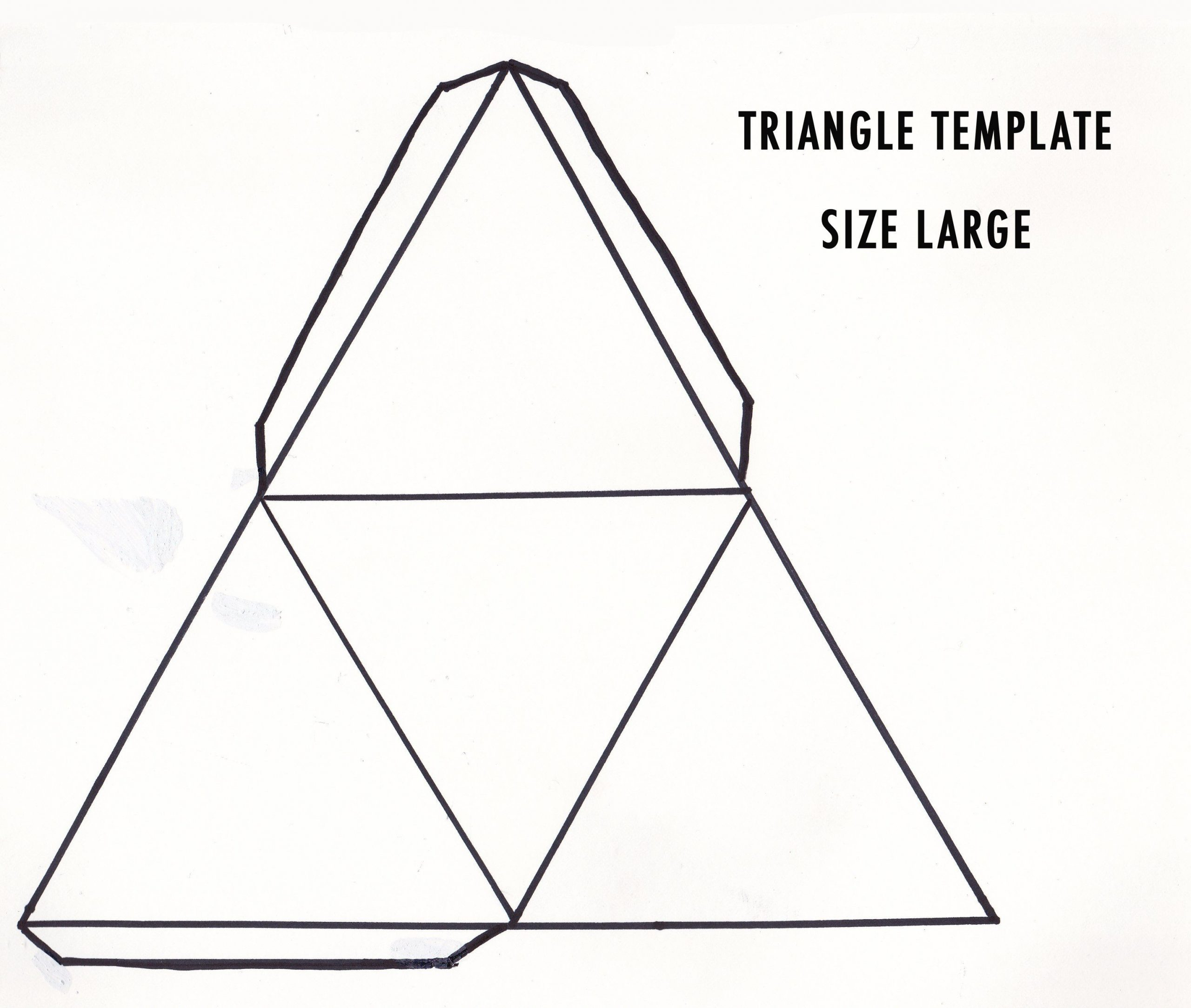 Geometry Template Printable 3d Shapes Google Search
