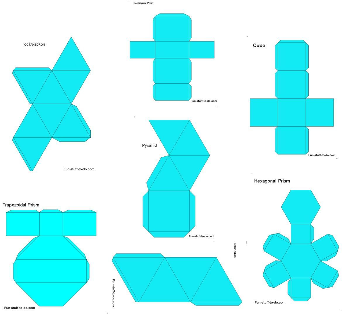 Geometry Template Printable Printable Shapes