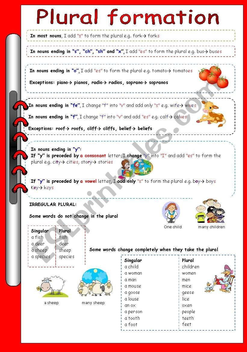Grammar Worksheet First Grade 4 Free Grammar Worksheets First Grade 1 Nouns Plural In 2020