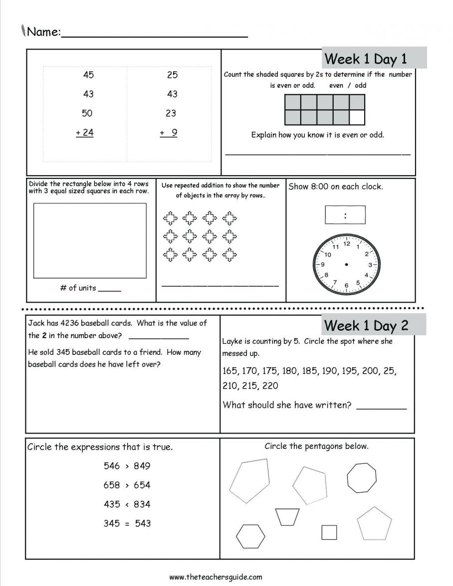 Grammar Worksheet First Grade Free Math Worksheets First Grade 1 Addition Add 3 Single