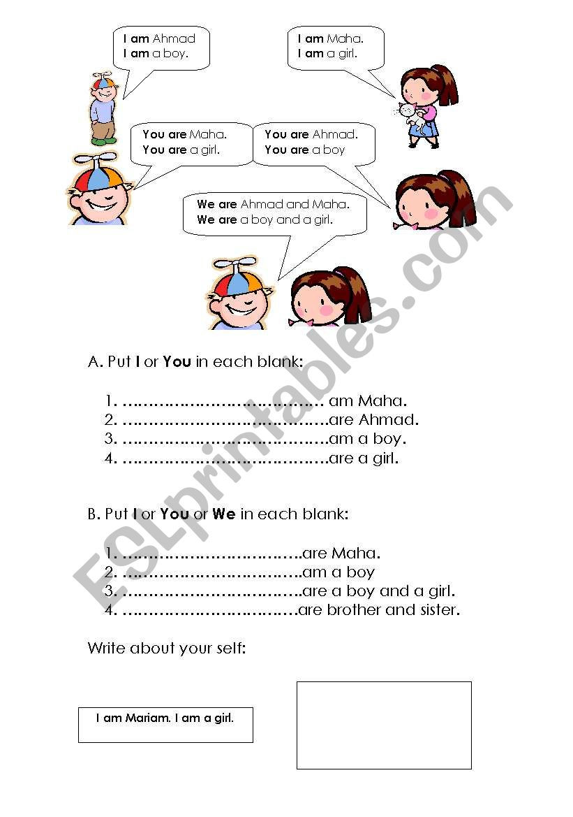 Grammar Worksheets for 3rd Grade Grade 3 Grammar Esl Worksheet by Maha