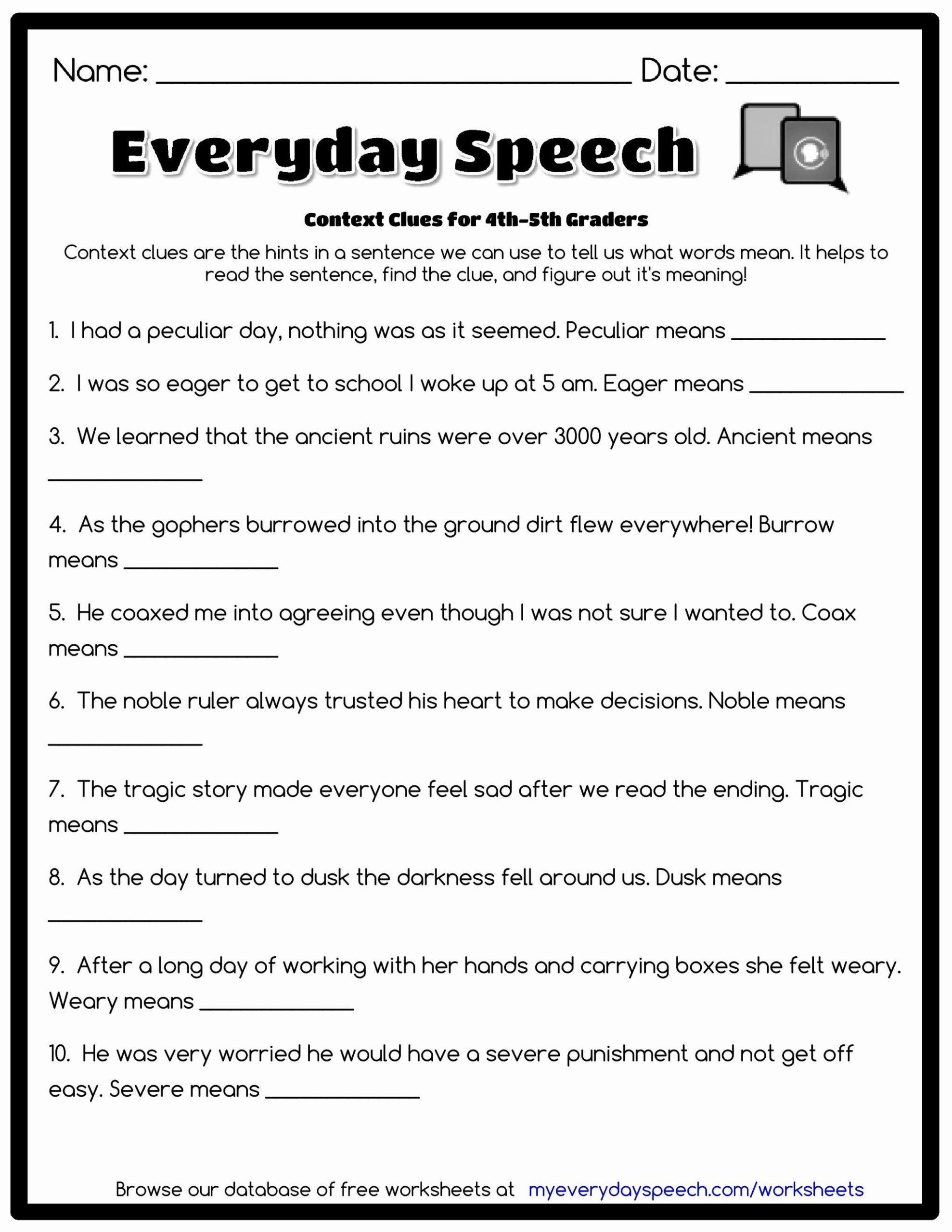 Grammar Worksheets for 3rd Grade Grammar Worksheet 3rd Grade