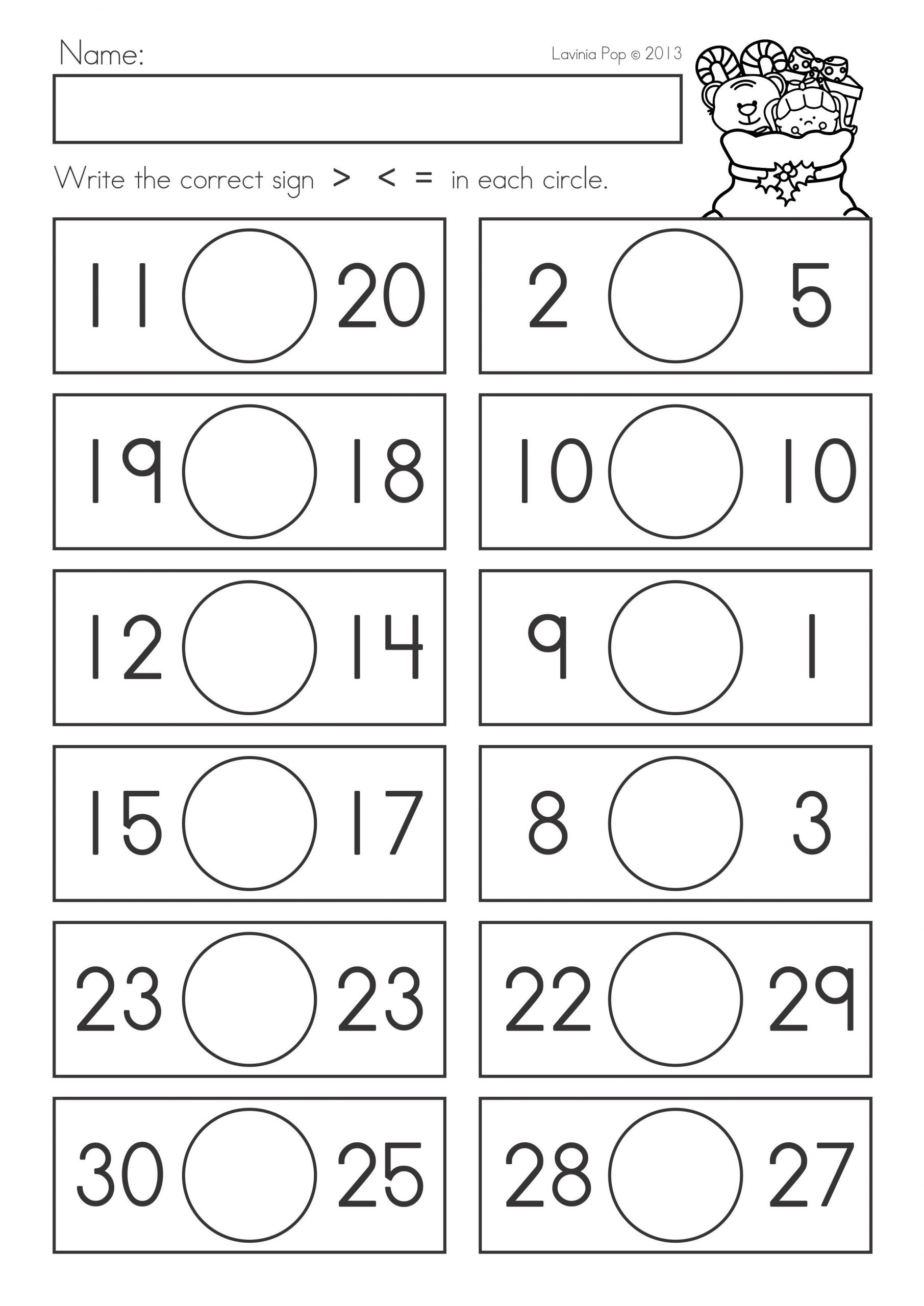 Graphing Worksheets for First Grade Worksheets Paring Numbers Worksheets for First Grade