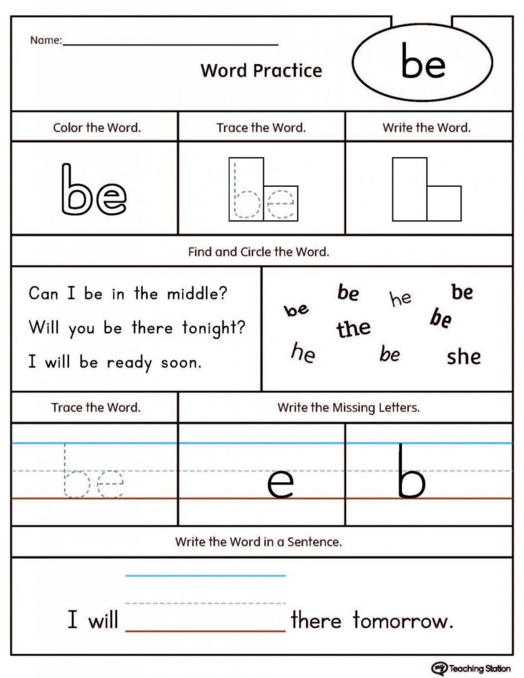 Hibernation Worksheet for Preschool Worksheet Preschoolheet Sight Words to Printable Stunning