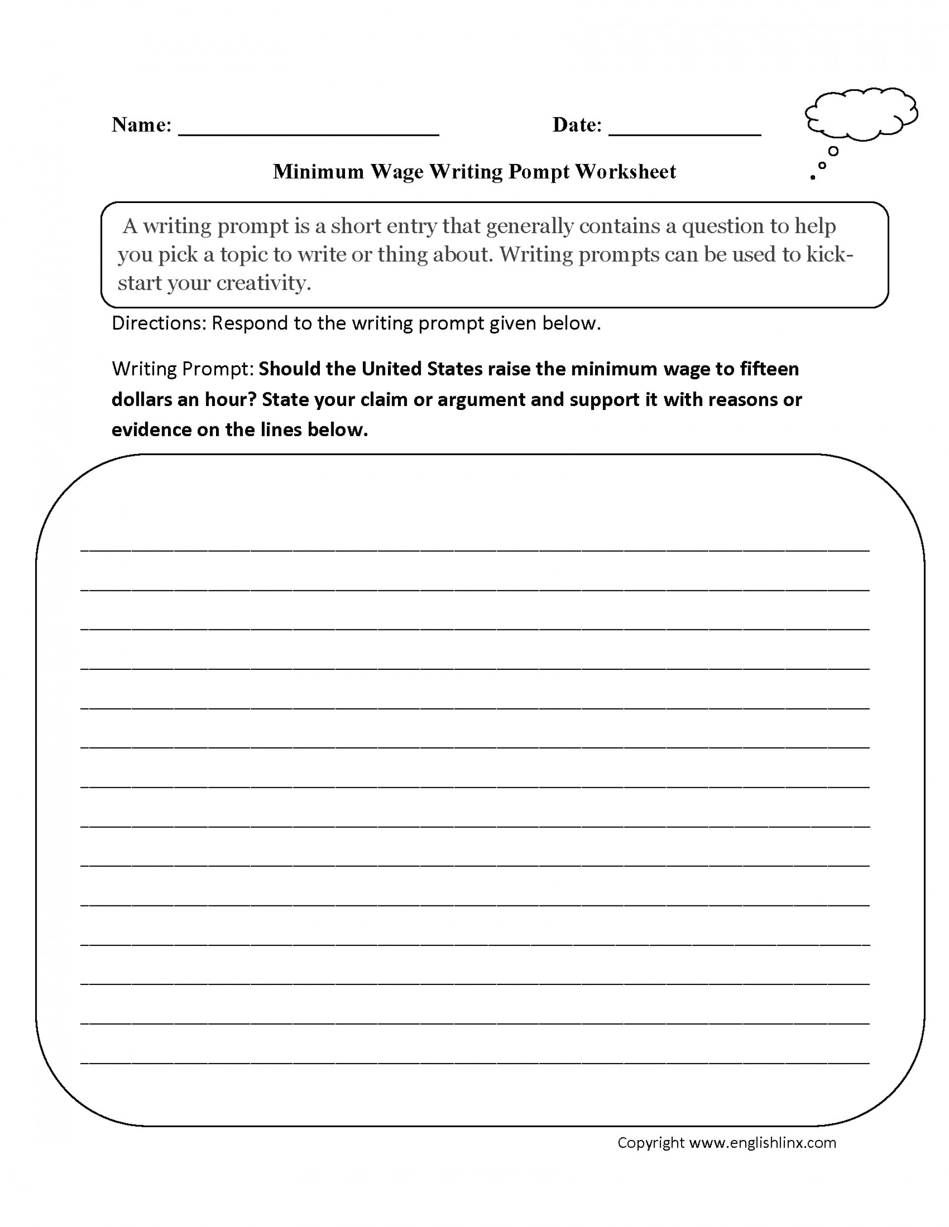 High School Essay Writing Worksheets Writing Middle School Worksheets