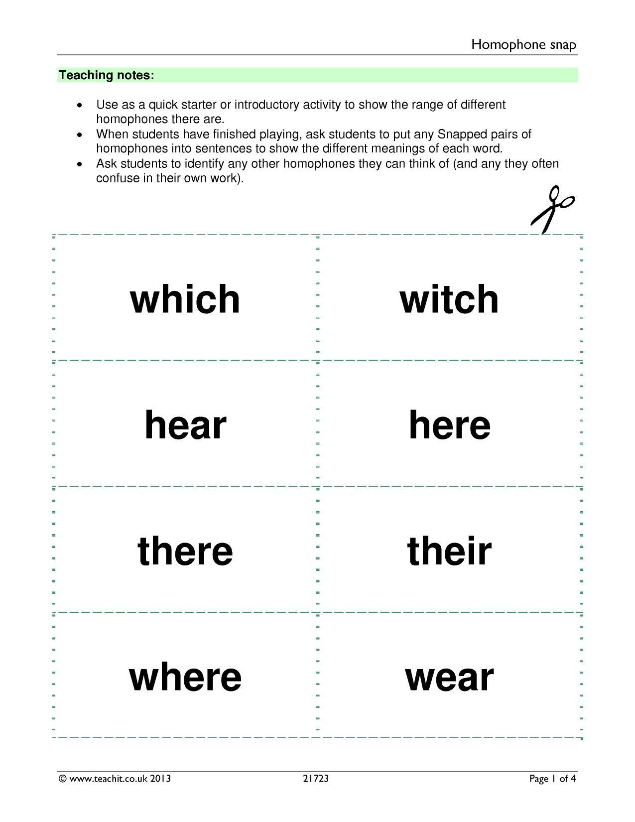 Homophones Worksheet 5th Grade Halloween Homonyms Worksheet