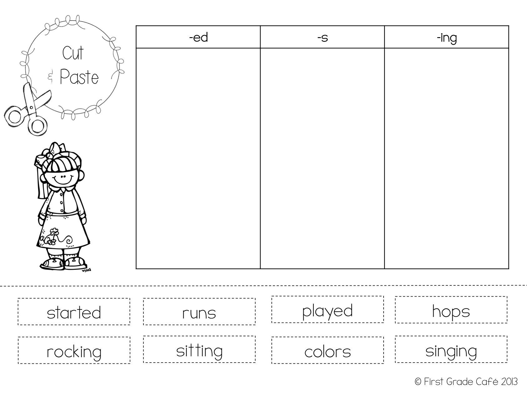 Inflectional Endings Worksheets 2nd Grade Inflectional Endings