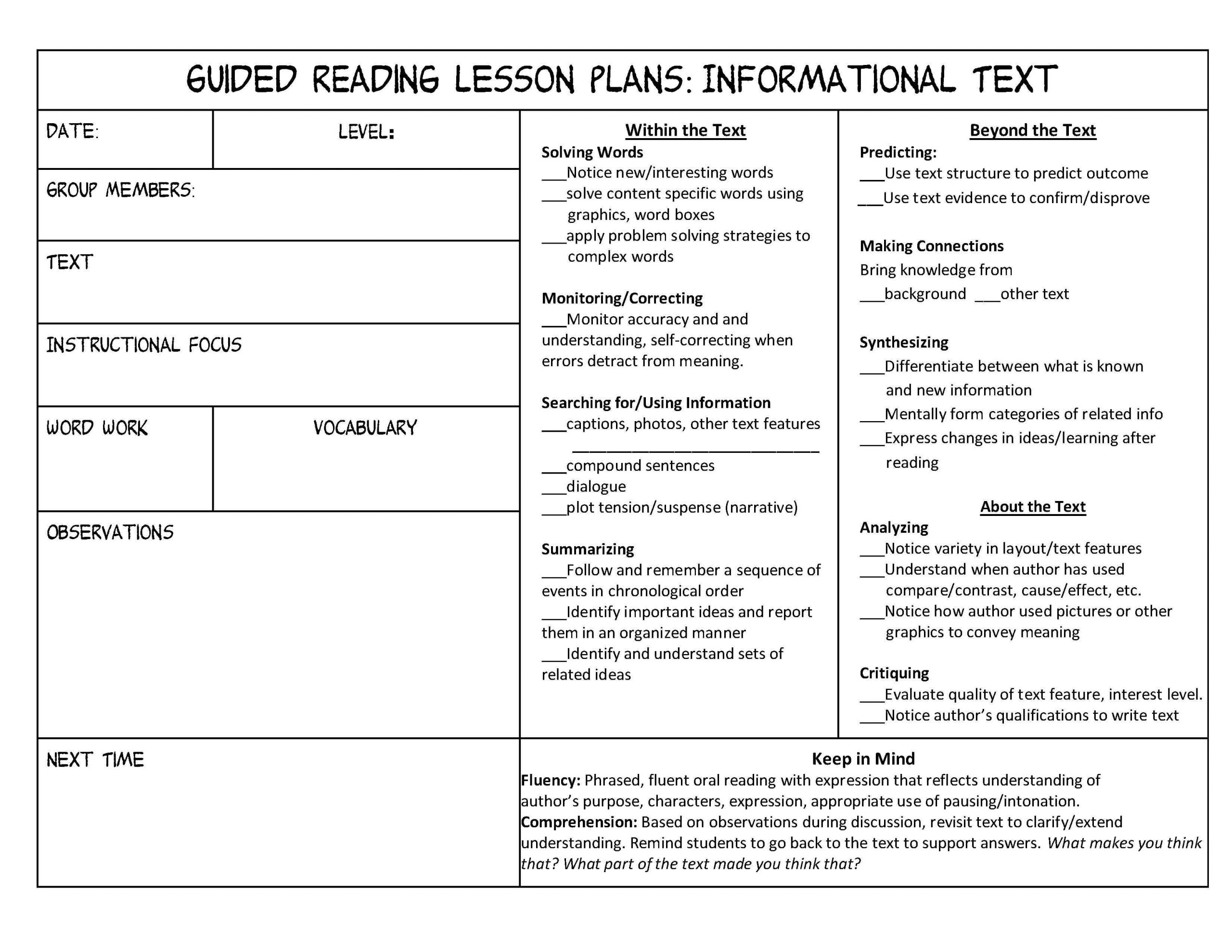 Informational Text Worksheets Middle School Investigating Nonfiction Part 3 Independent and Guided