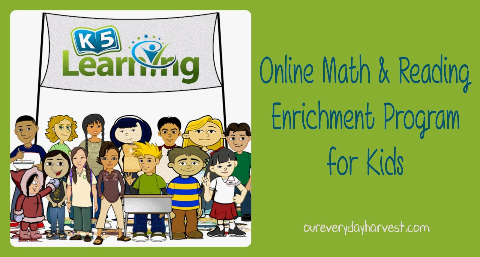 K5 Learning Math Grade 4 Line Math and Reading Enrichment Program for Kids K5