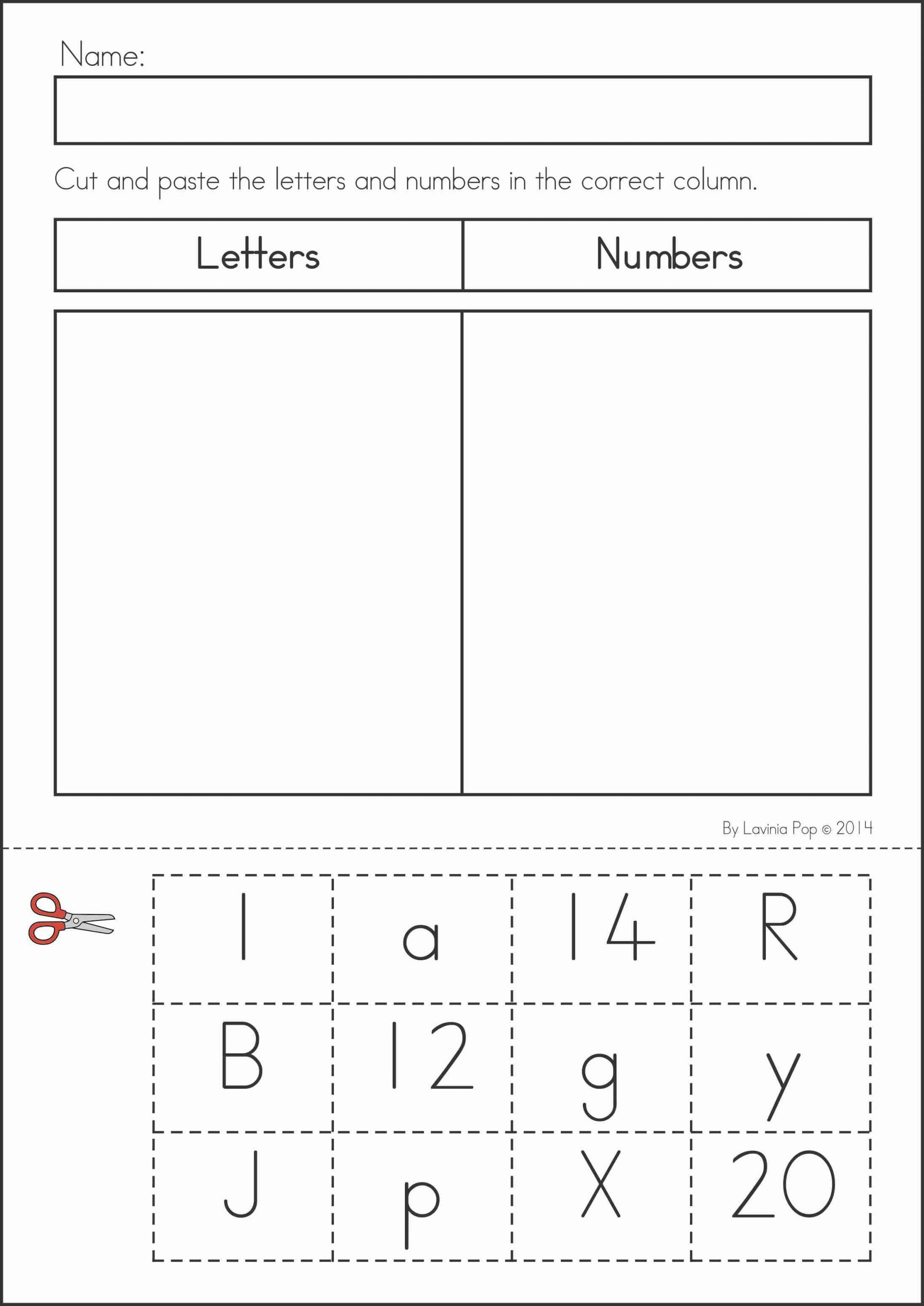 Kindergarten Math sorting Worksheets Summer Review Kindergarten Math & Literacy Worksheets