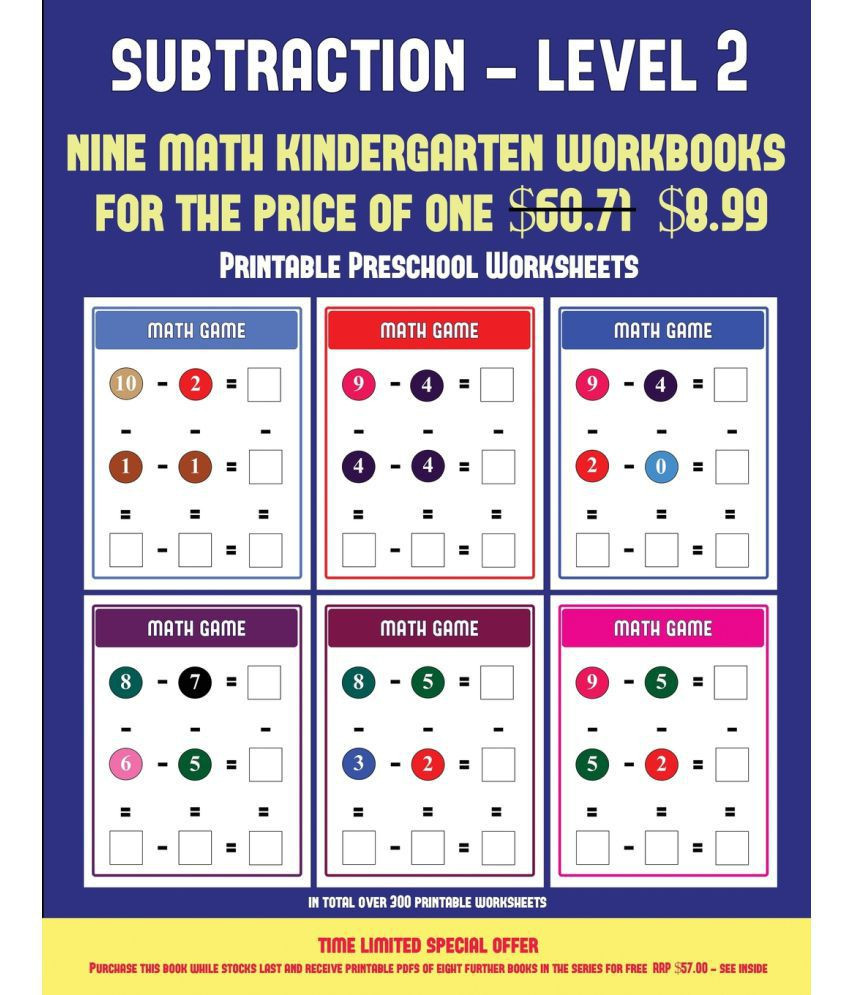 Kindergarten Subtraction Worksheets Free Printable 5 Reading Worksheets Preschool Worksheets Schools