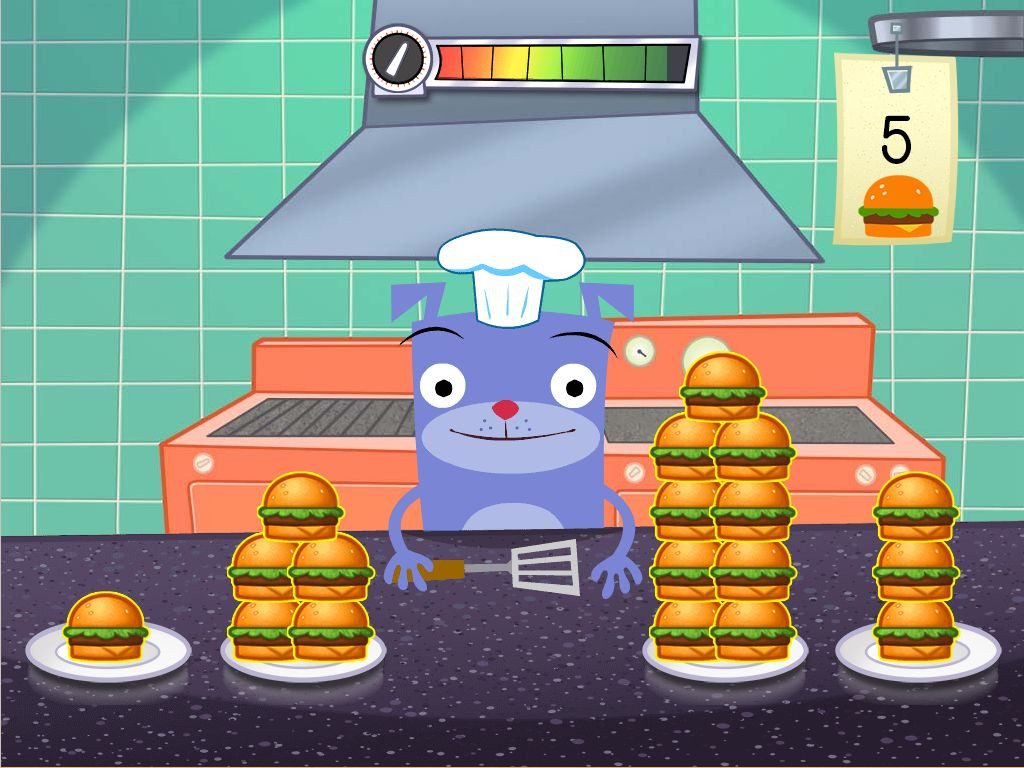 Kitchen Math Worksheets Counting In the Kitchen Game Game