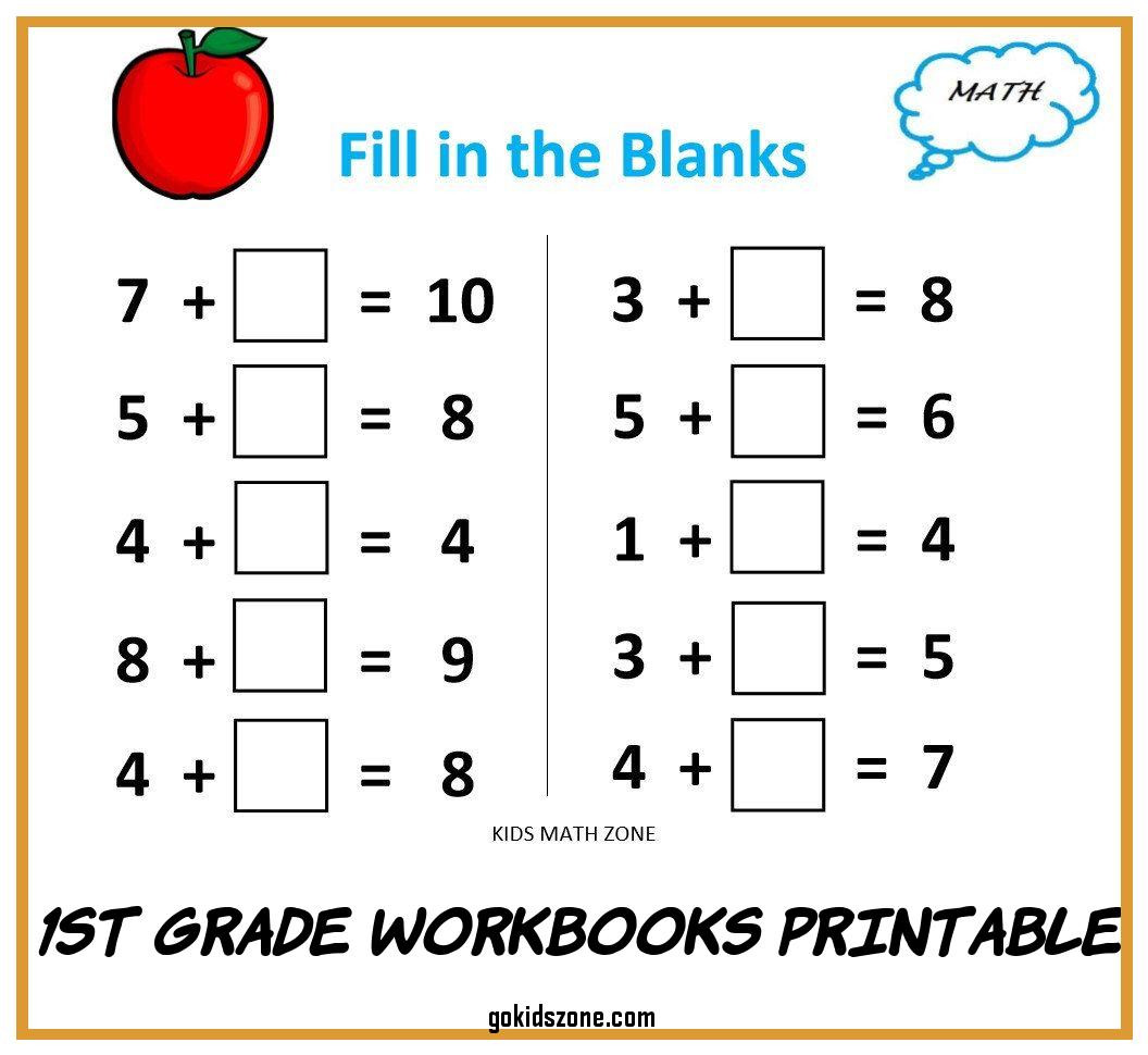 Kumon Maths Worksheets Printable 1st Grade Workbooks Printable Grade 1 Math Workbook E Per