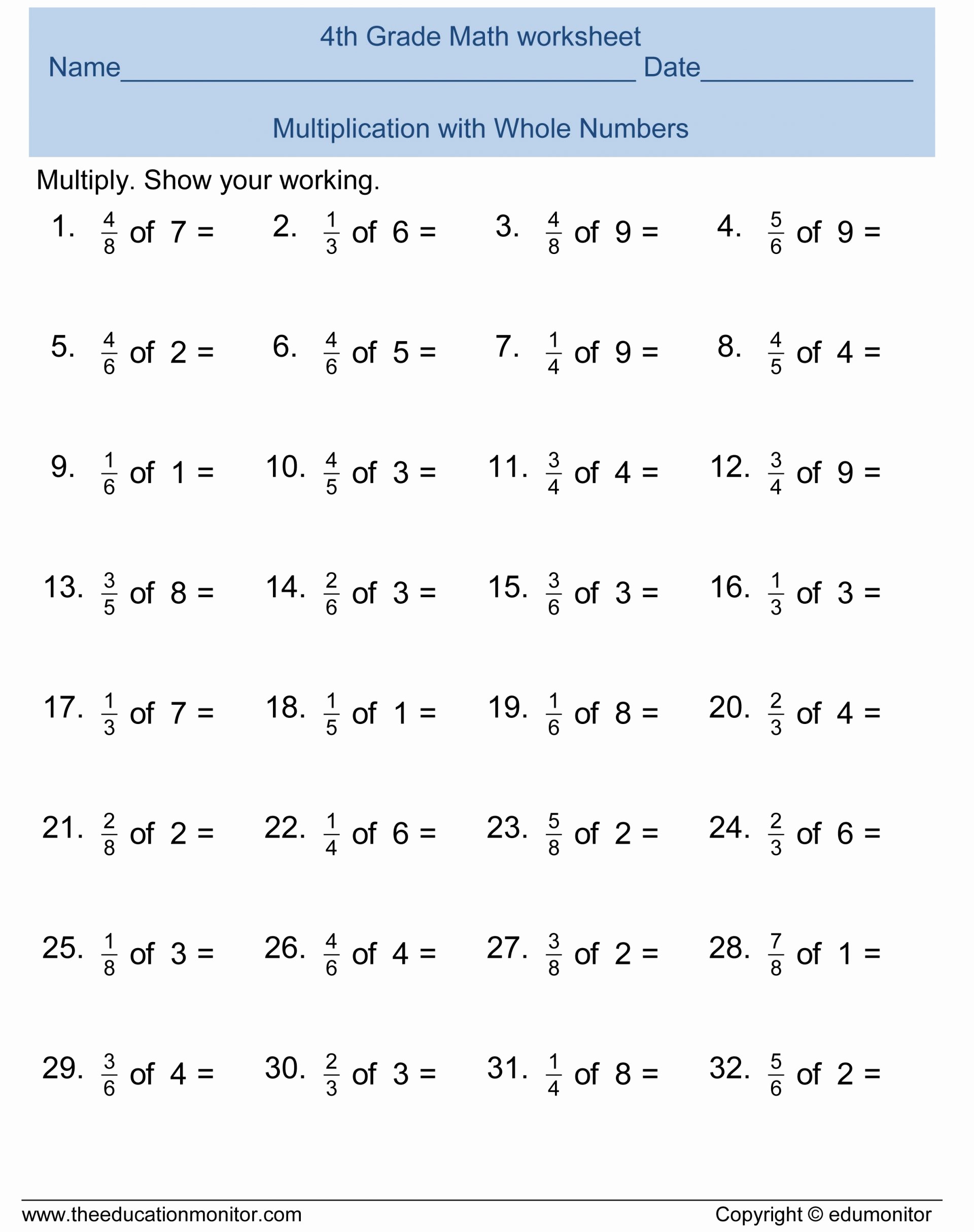 Kumon Maths Worksheets Printable 6a Kumon Math Worksheet