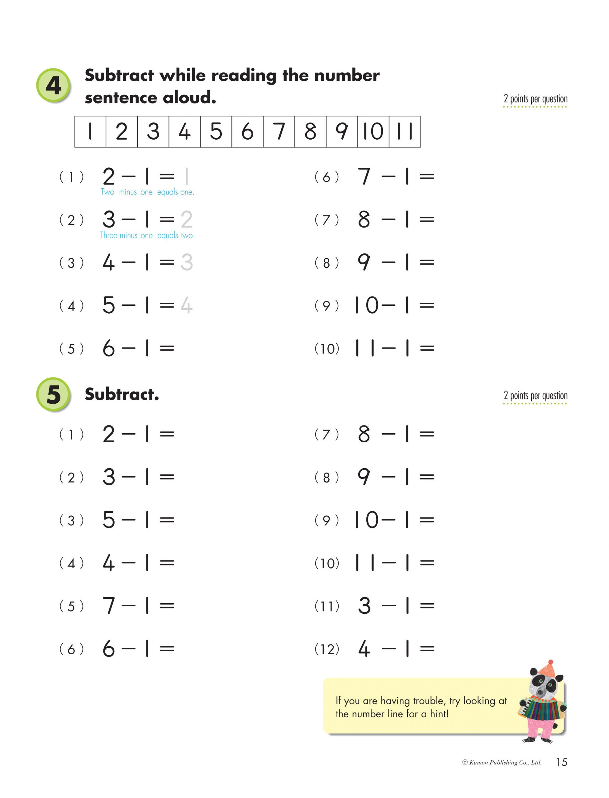 Kumon Maths Worksheets Printable Math Worksheet Math Worksheet Extraordinary Grade Maths