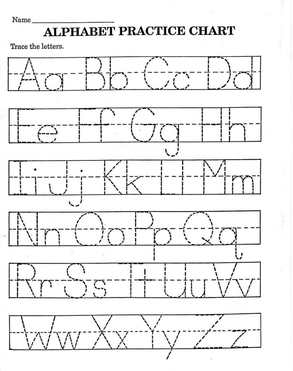 Letter K Tracing Worksheets Preschool Worksheet Trace Letterrksheets Free Printable