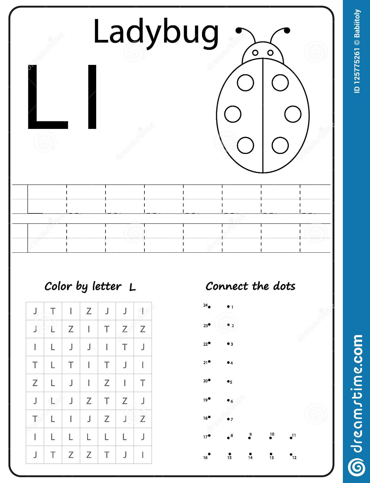 Letter L Worksheet for Preschool Writing Letter L Worksheet Writing A Z Alphabet