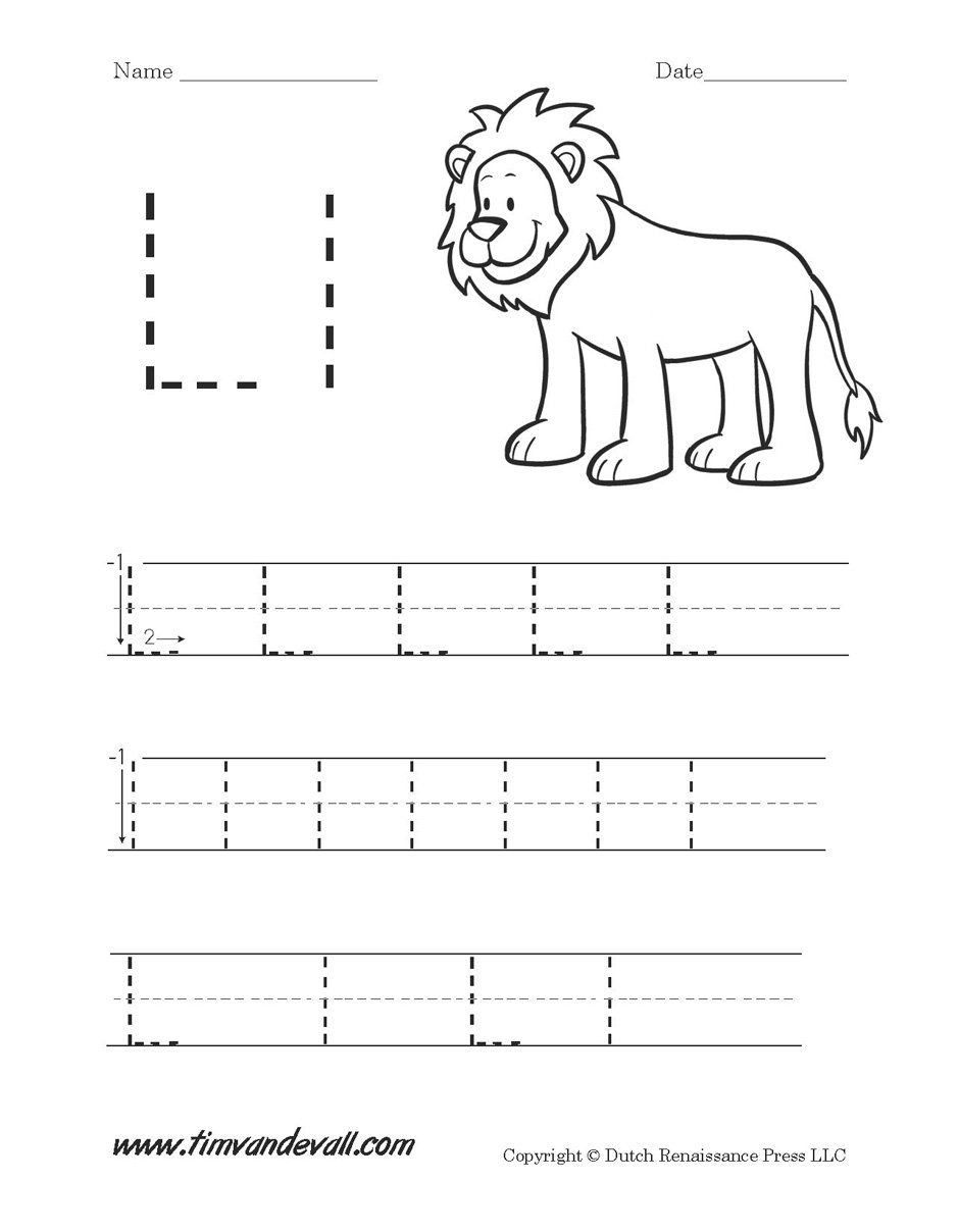 Letter L Worksheet Preschool Pin by Michelle Coill On Letter Homework