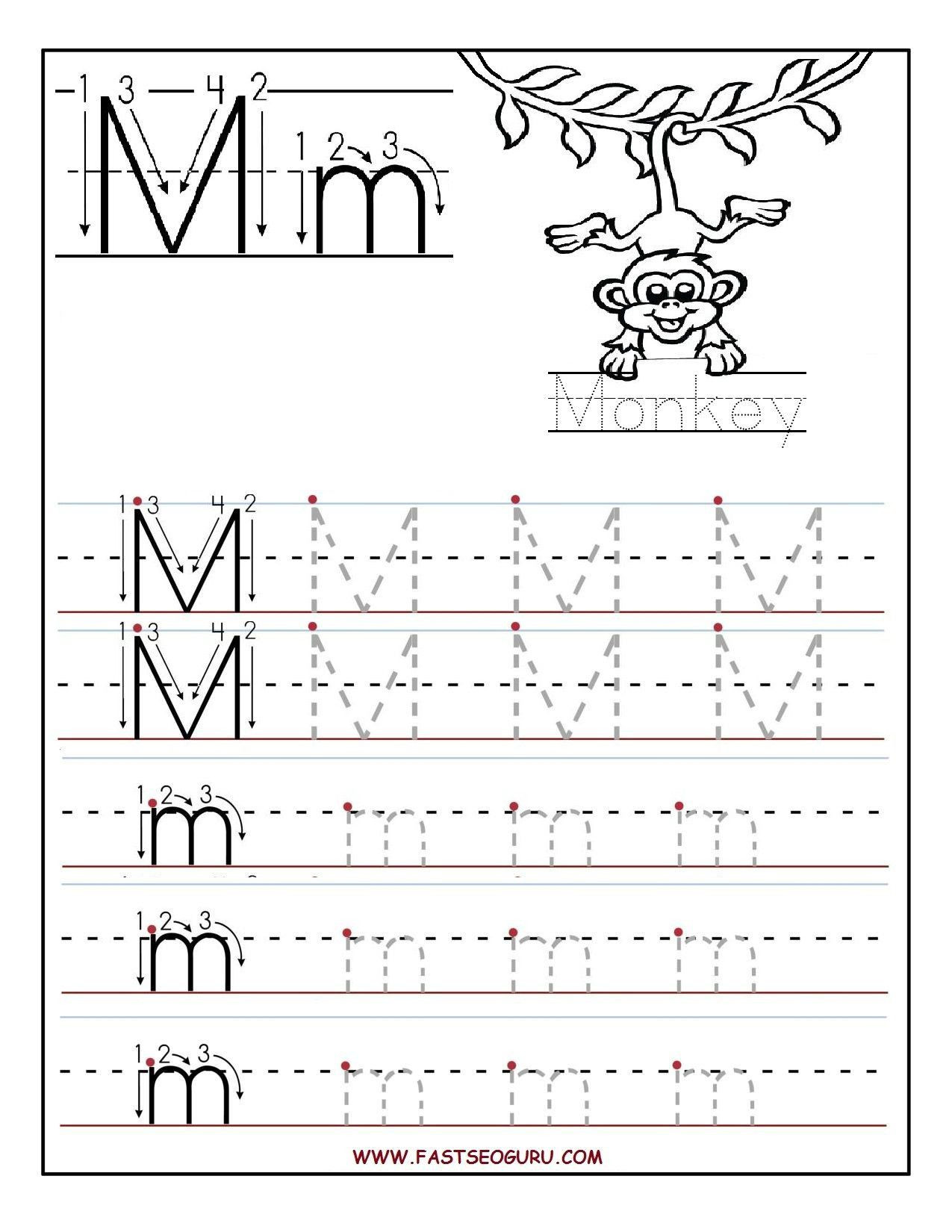 Letter M Worksheets for Preschoolers Pin On Kindergarten