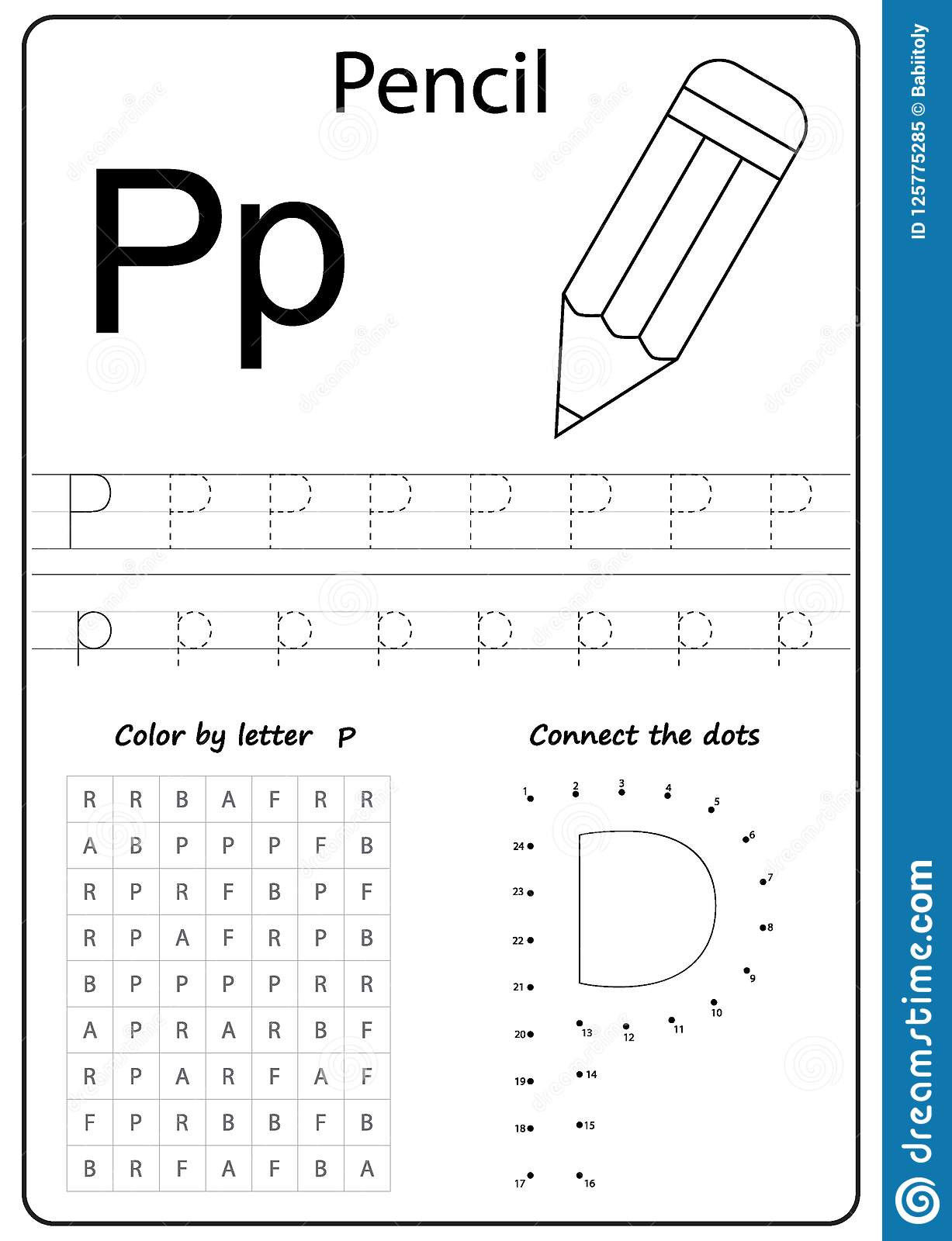 Letter P Preschool Worksheets Letter P Worksheets to Free Download Letter P Worksheets