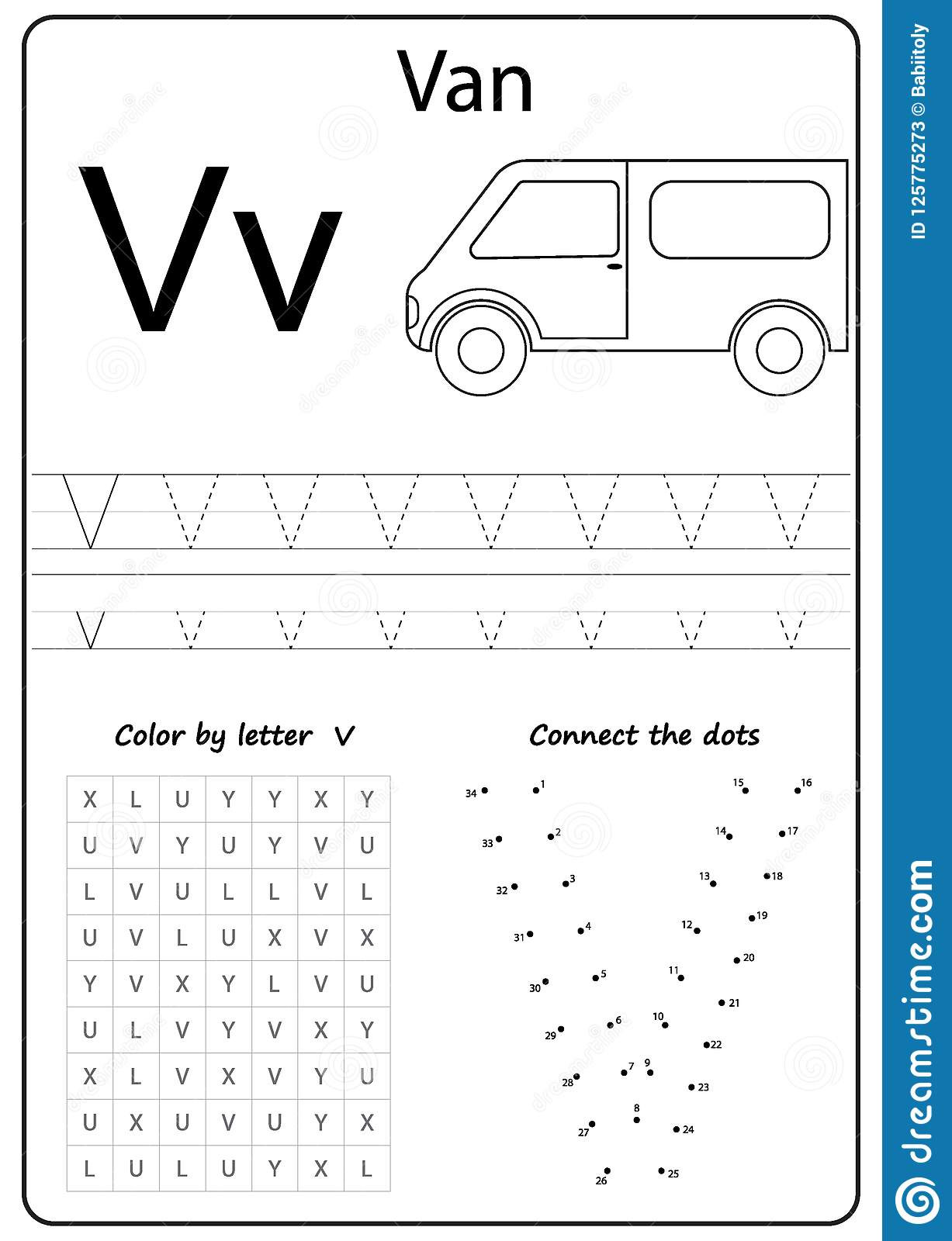 Letter V Worksheets Preschool Writing Letter V Worksheet Writing A Z Alphabet