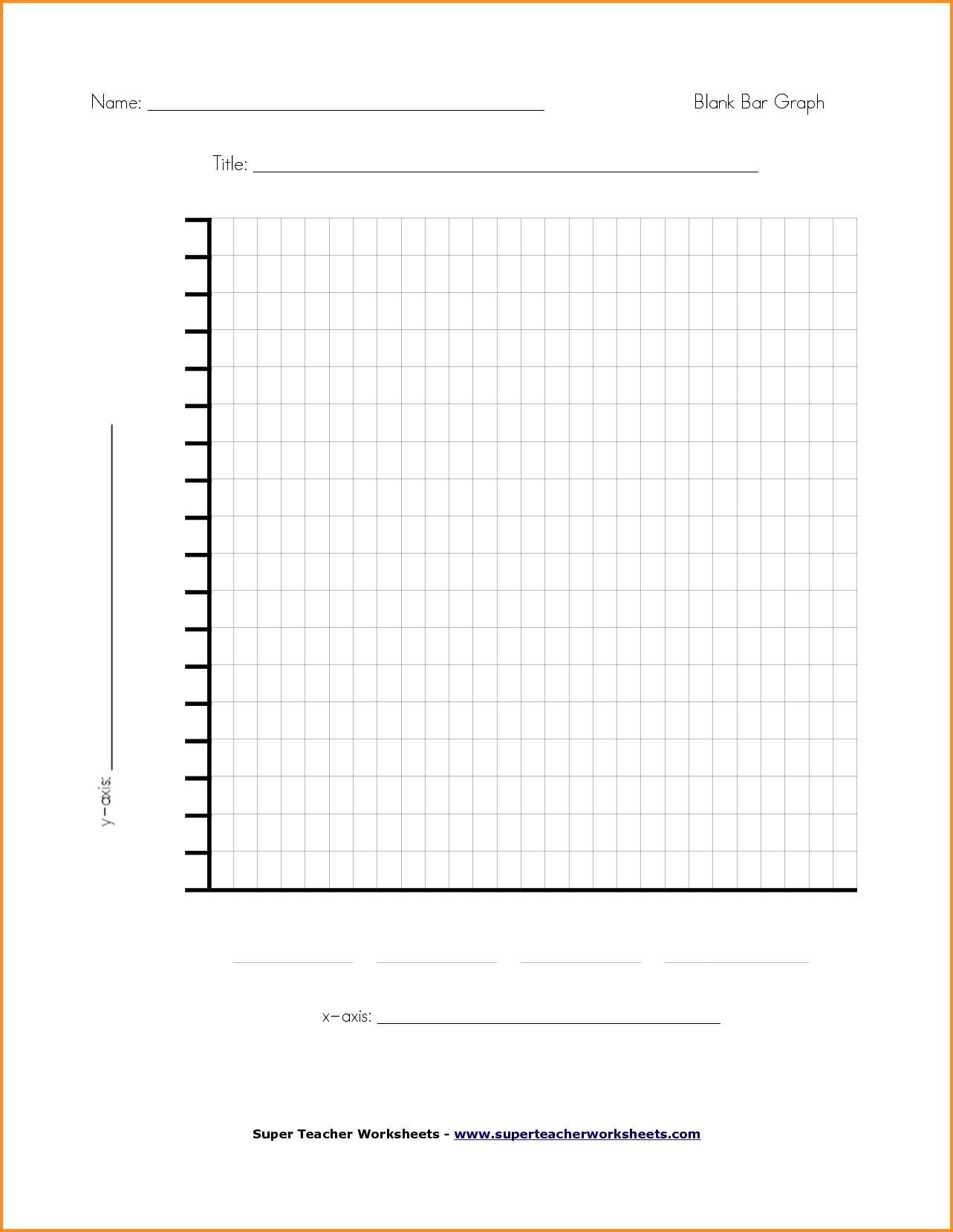 Line Graphs Worksheets 5th Grade Blank Chart Template for Teachers