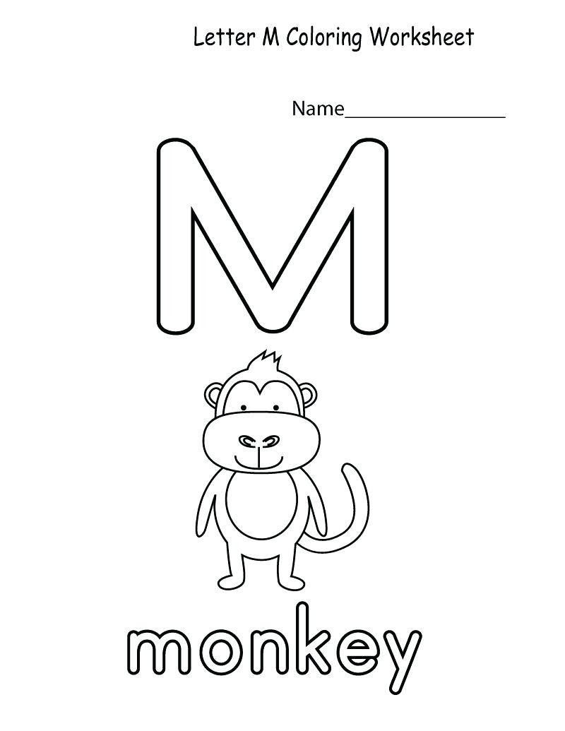 M Worksheets Preschool Letter M Worksheets to Download Letter M Worksheets