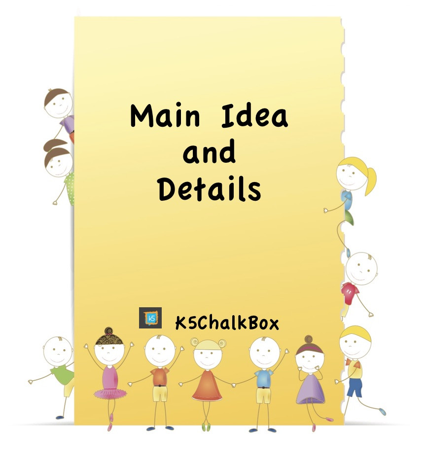 Main Idea Worksheets Grade 1 Main Idea and Details