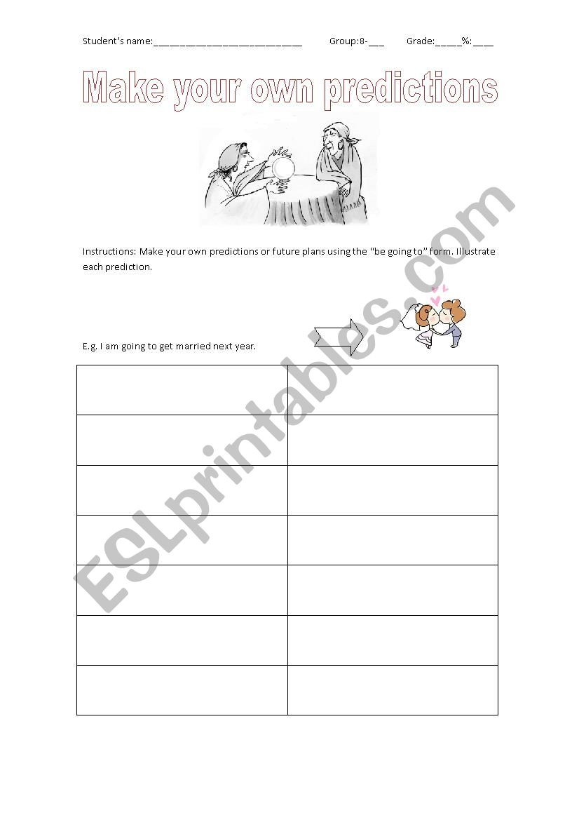 Making Predictions Worksheets 2nd Grade Make Predictions Esl Worksheet by solsito