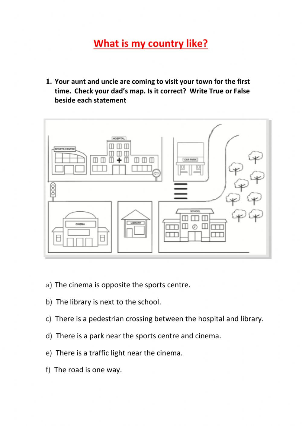 Map Worksheet 2nd Grade 2nd Grade sociales Unit 6 2 Interactive Worksheet