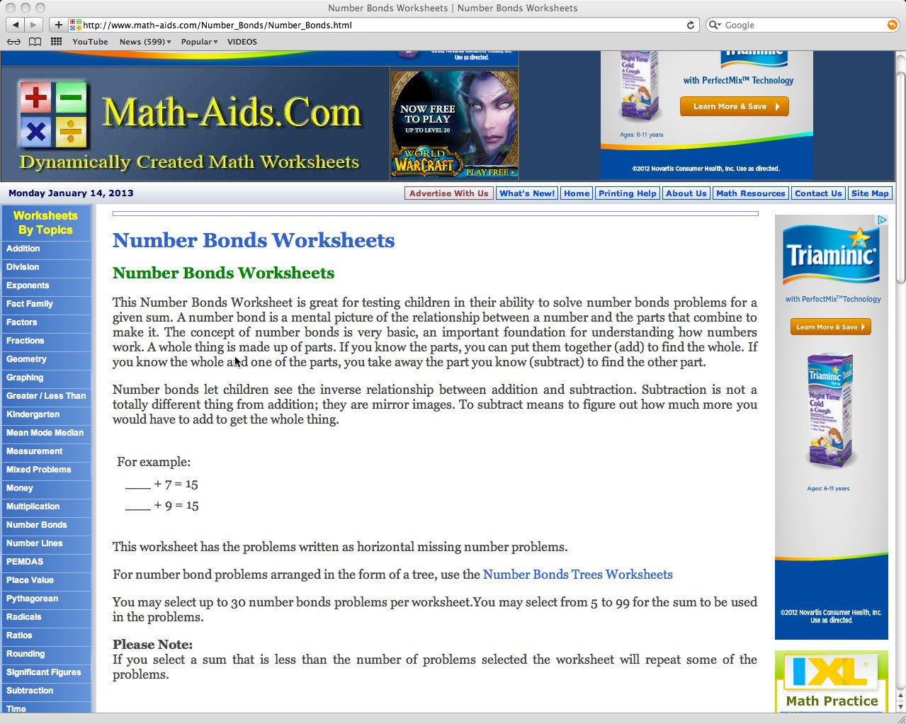 Math Aids Factors Worksheets Educational Reviews Math Aids