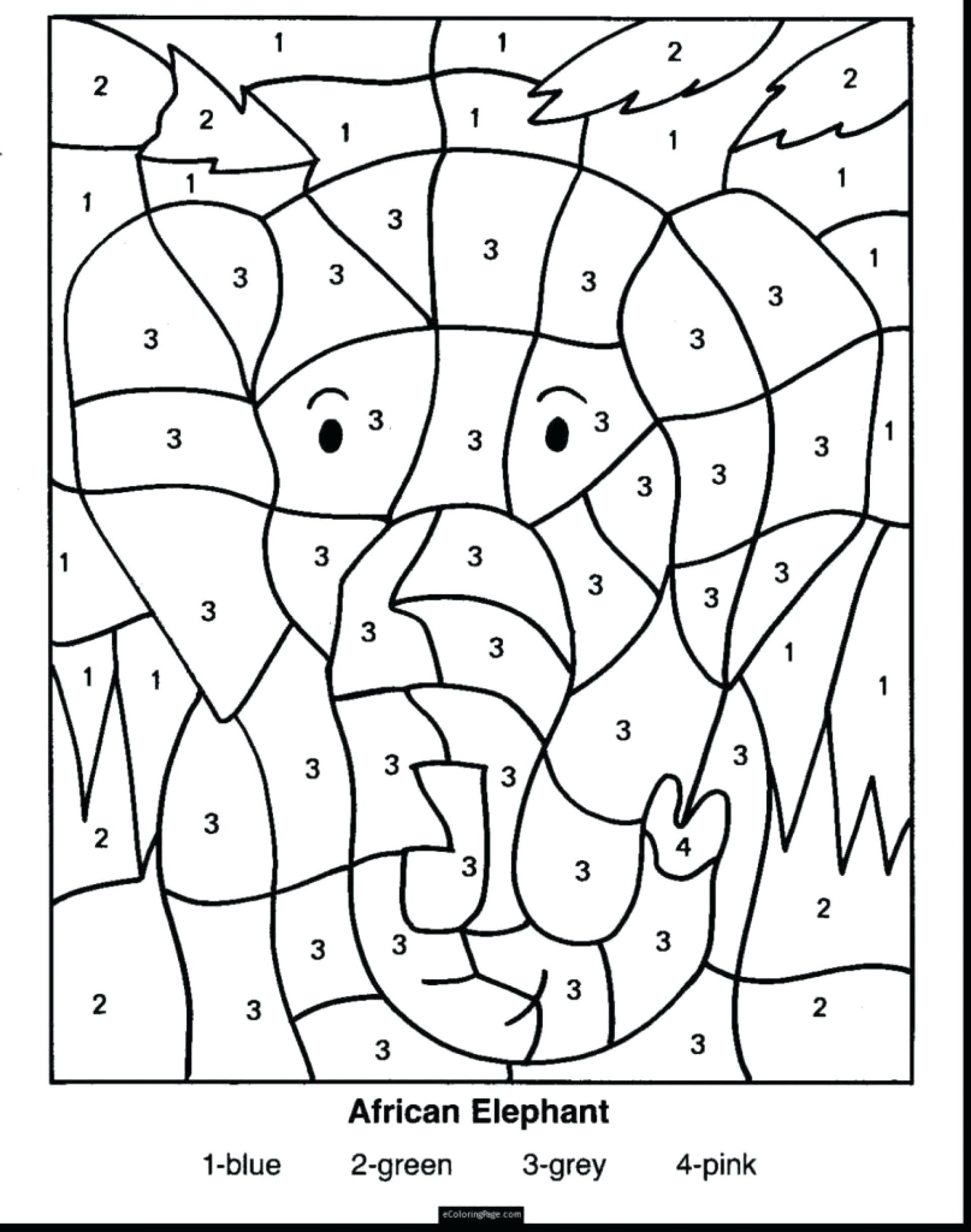 Math Coloring Worksheets 2nd Grade Coloring Pages Free Second Grade Math Third Problems Line