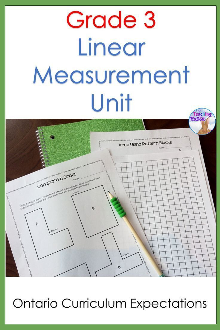 Measurement Worksheets for 3rd Grade Linear Measurement Unit Grade 3