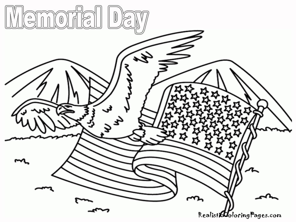 Memorial Day Worksheets Free Printable Memorial Day Coloring Pages
