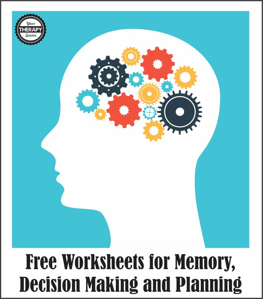 Memory Exercises for Adults Printable Q&a Looking for Free Worksheets for Memory Decision Making