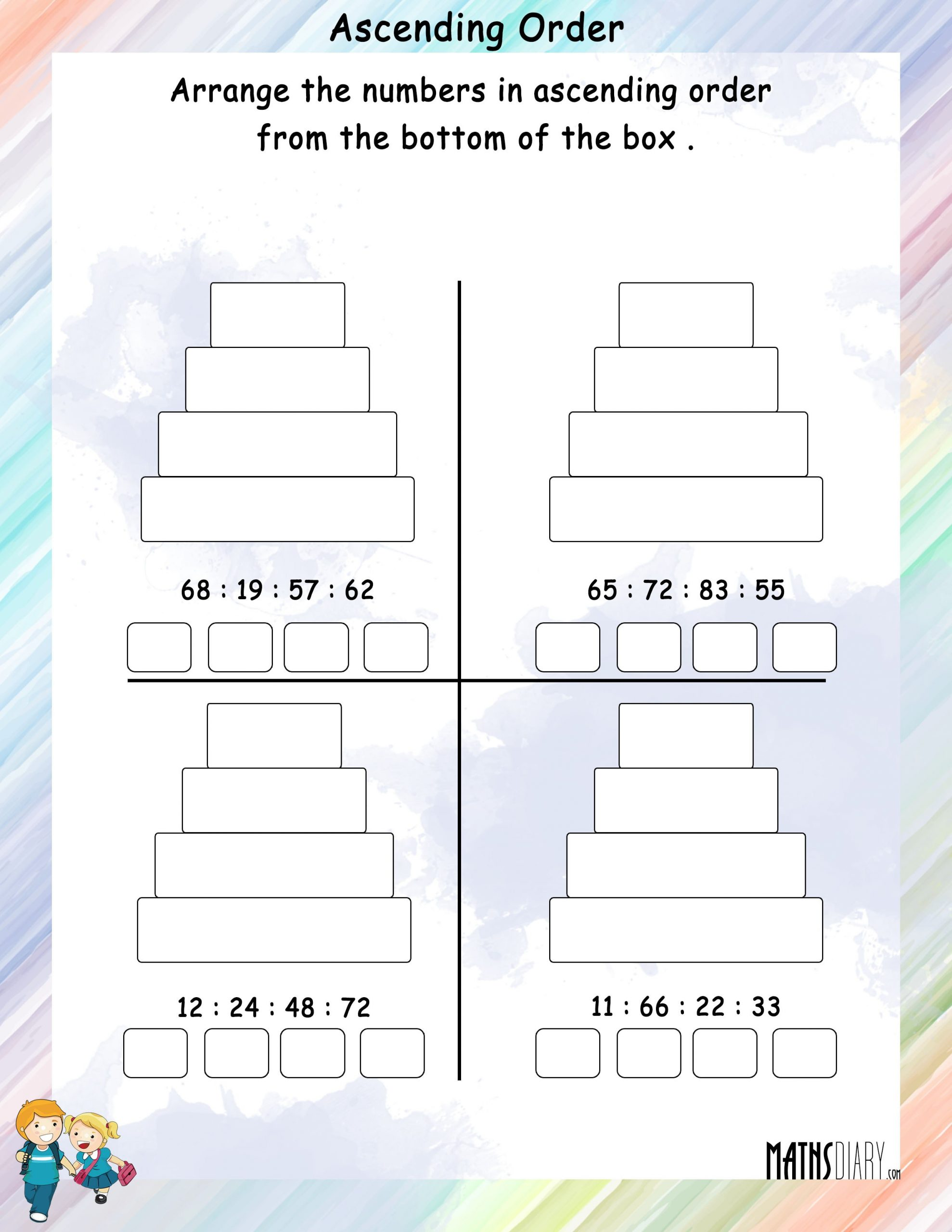 Mental Math Worksheets Grade 6 Mental Maths – Grade 1 Math Worksheets Page 2
