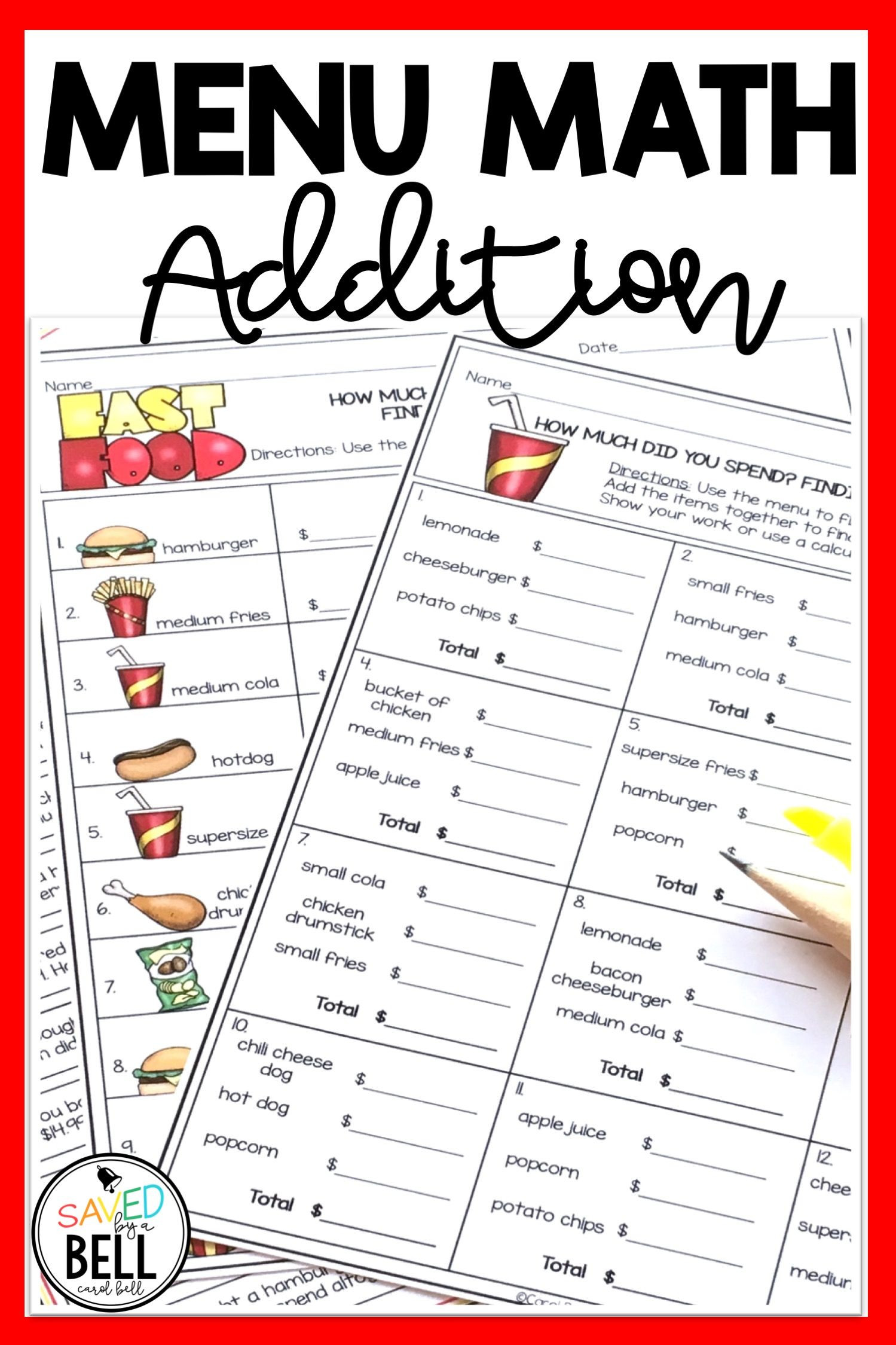 Menu Math Printable Basic Multiplication Worksheets Traceable Name Worksheets