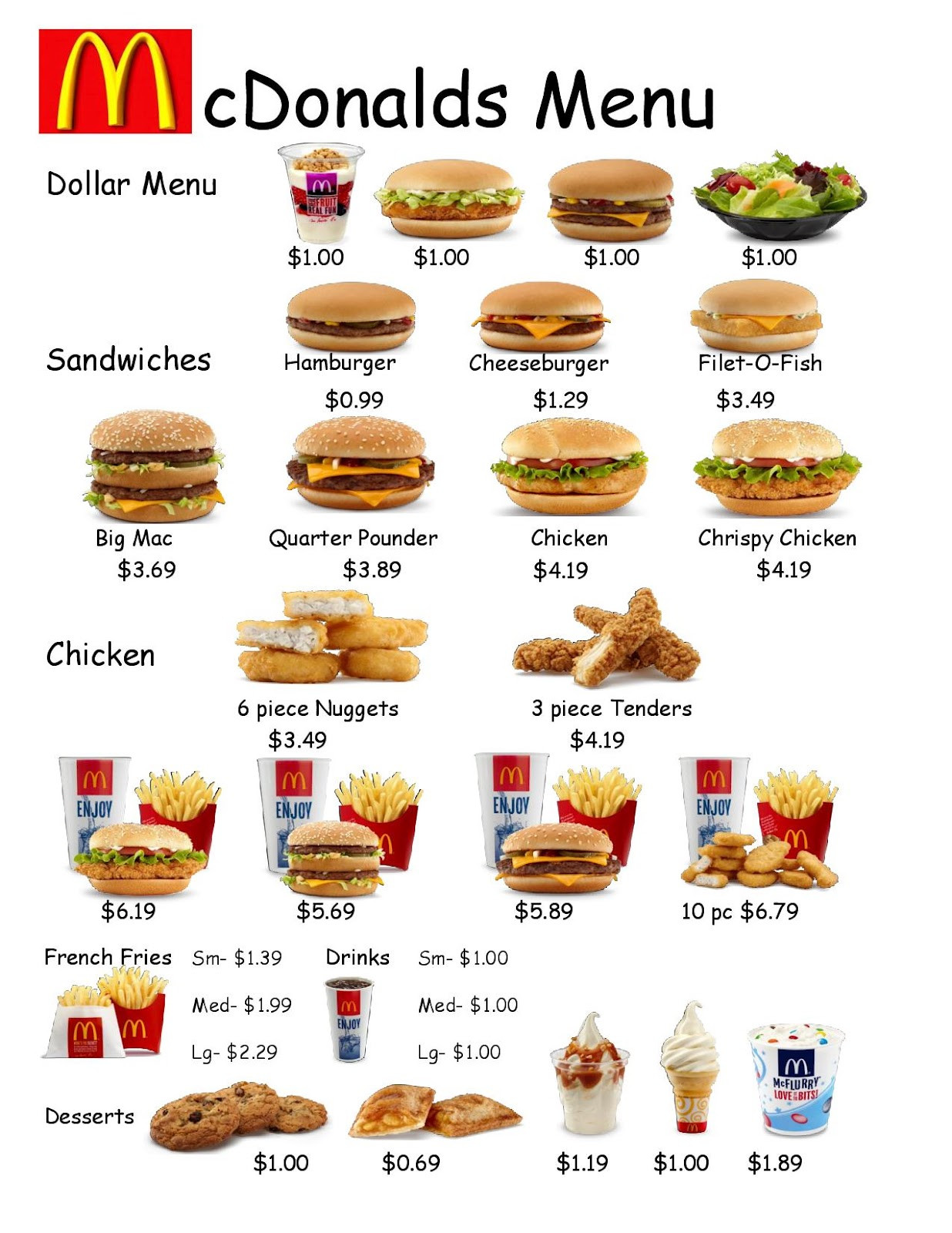 Menu Math Worksheets Empowered by them Fast Food Worksheet 1