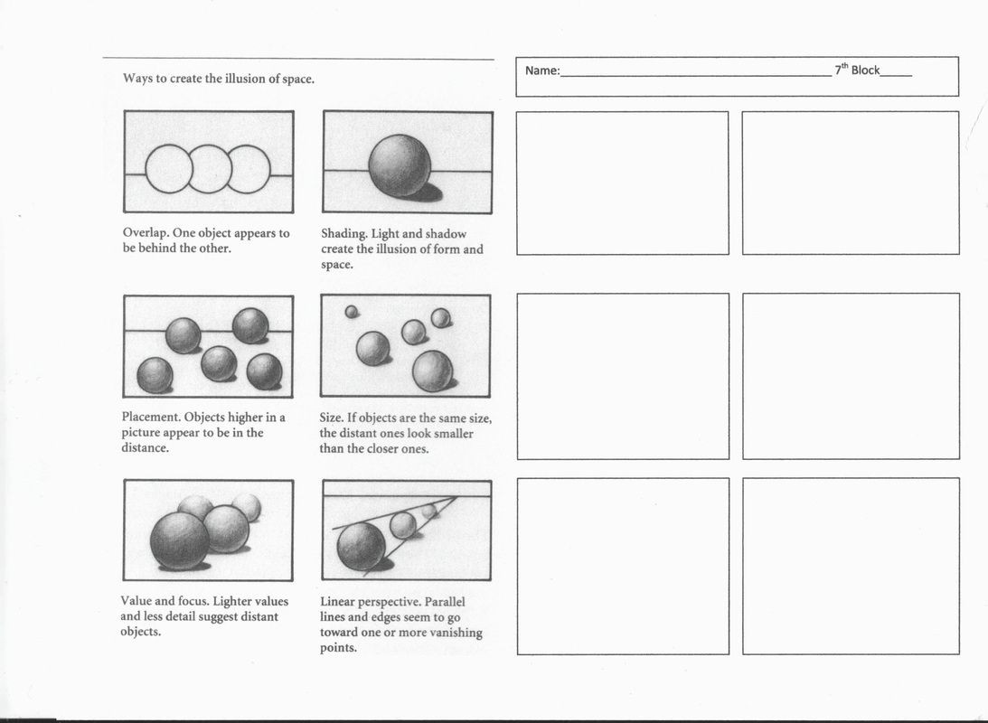 Middle School Art Worksheets Chiaroscuro Project Mrs Begins Art Room Great Website
