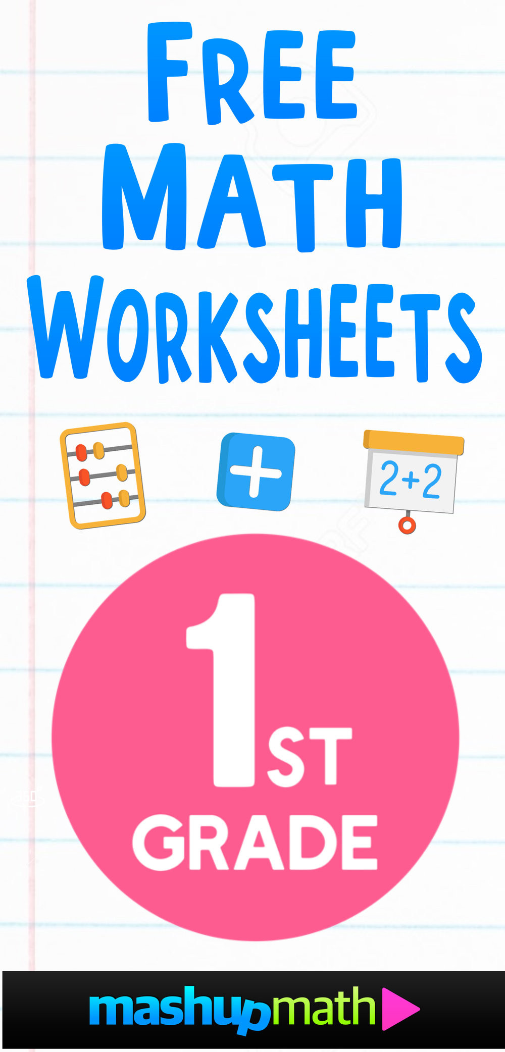 Missing Addends Worksheets 1st Grade Free 1st Grade Math Worksheets — Mashup Math
