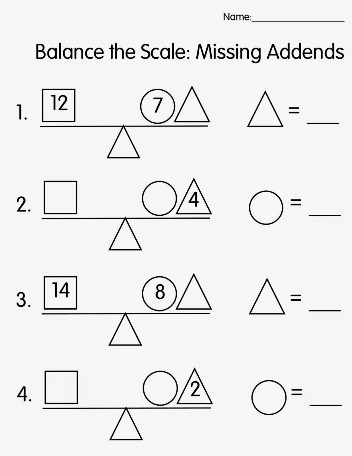Missing Addends Worksheets First Grade Missing Number Worksheet New 168 Missing Number Worksheet