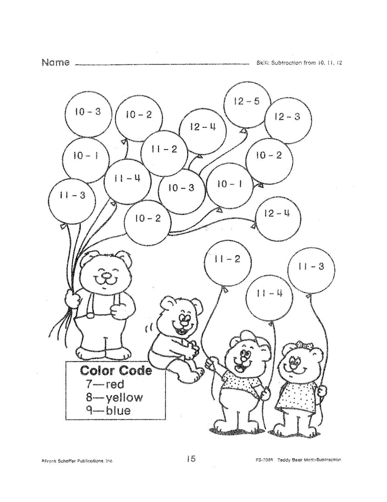 Money Worksheets for Second Grade Free Math Worksheets Second Grade Subtraction Up Fun for 2nd
