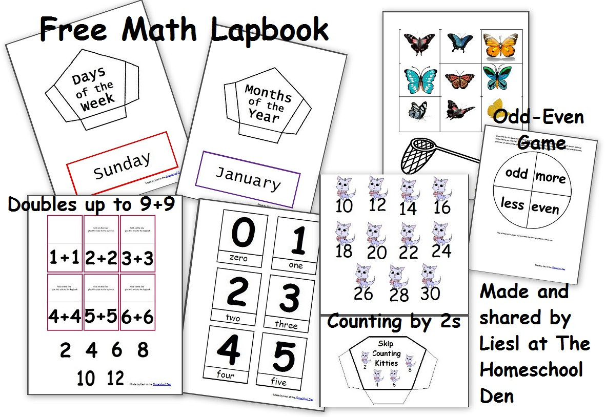 Native American Math Worksheets Free Math Lapbook Prek K 1st Grade Homeschool