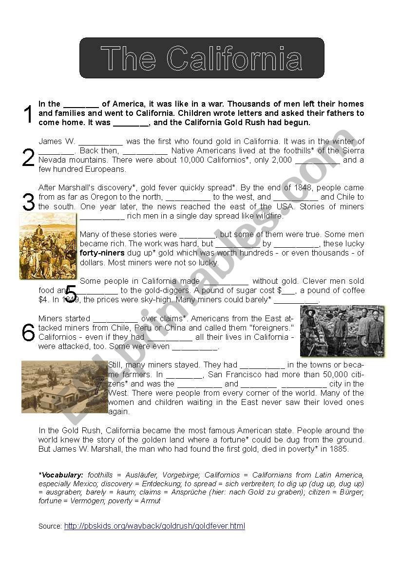 Native American Math Worksheets the Gold Esl Worksheet by Tingeltangeltim Worksheets Kumon