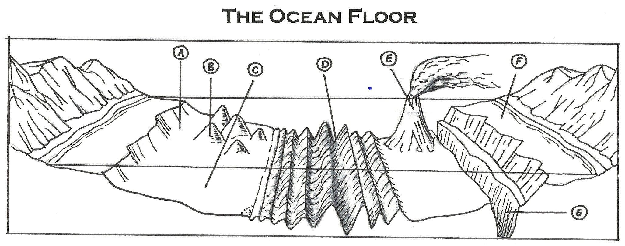 Ocean Floor Worksheets 5th Grade the Ocean Floor Worksheets In 2020
