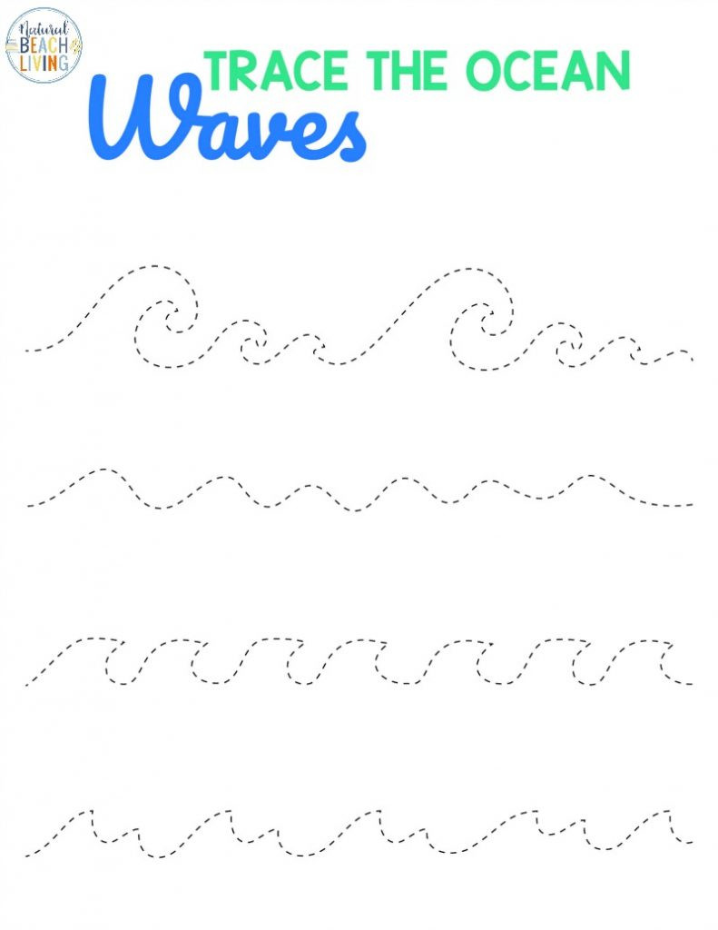 Ocean Worksheets for Preschool Preschool Beach Printables and Activities Natural Beach Living