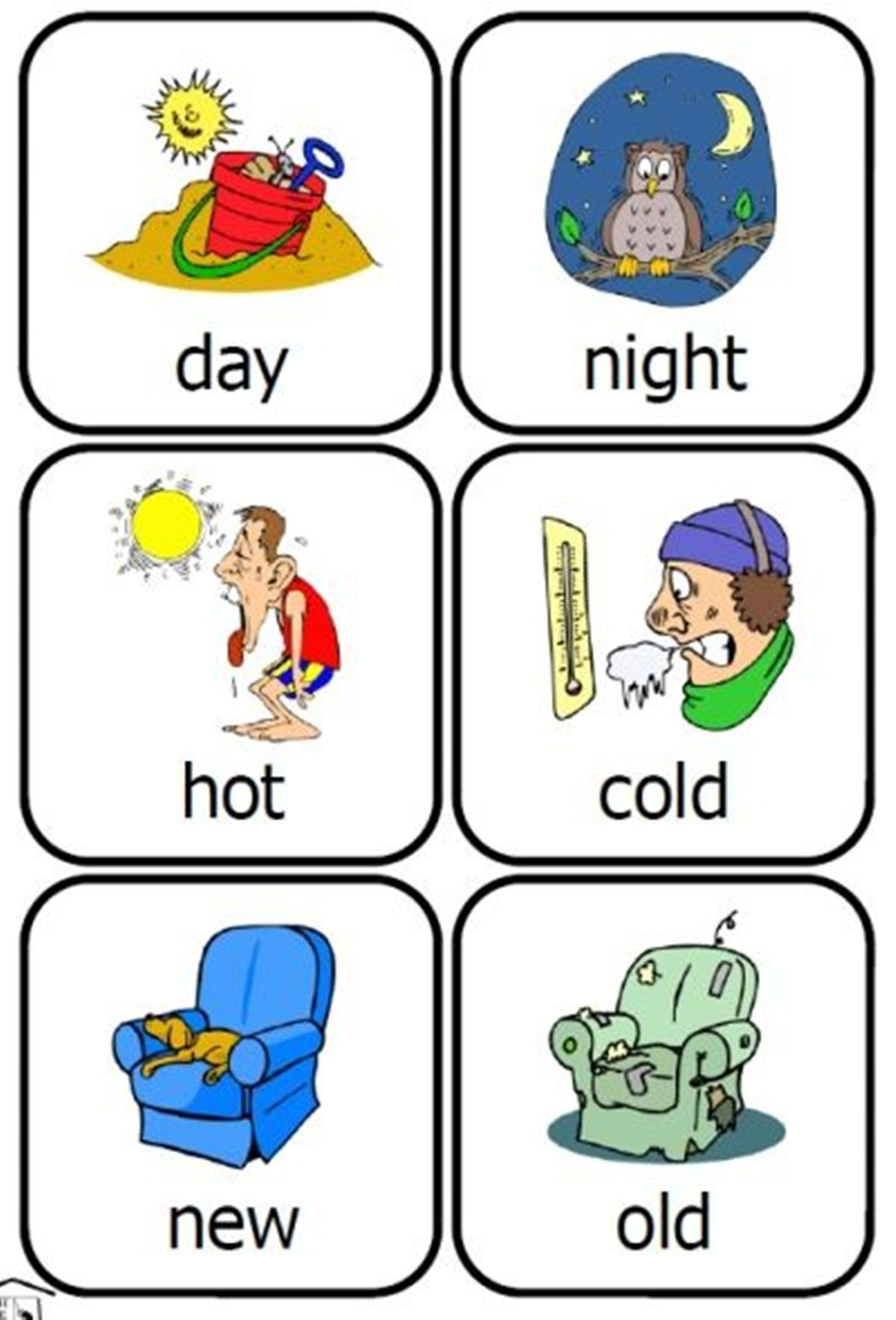 Opposites Preschool Worksheets Mon Opposite Words In English
