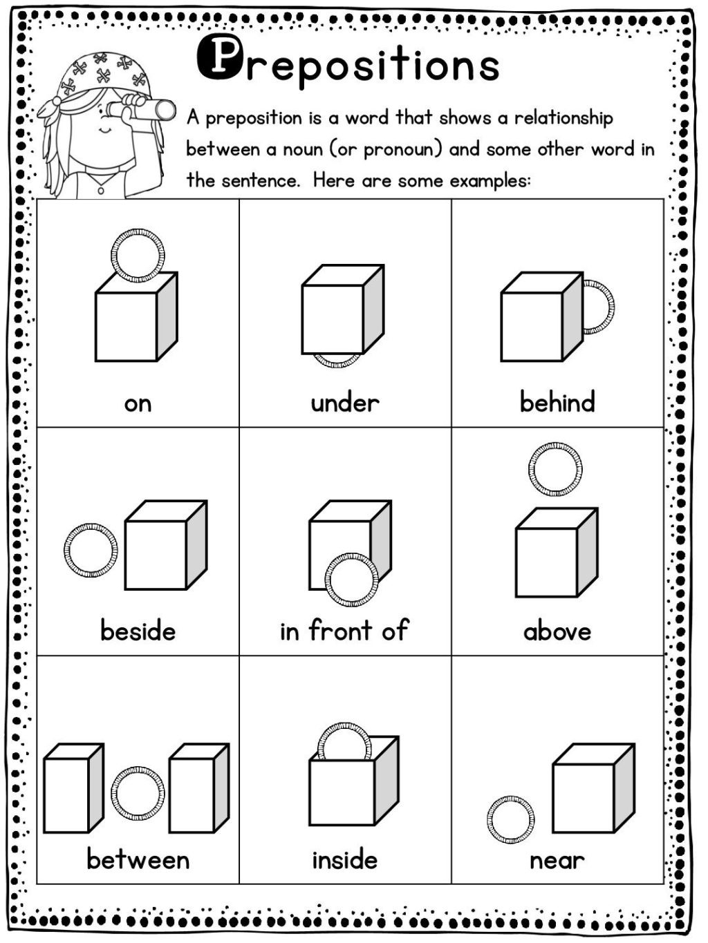 Opposites Worksheet for Preschool Worksheet Vocabulary Set English Worksheets for Kids