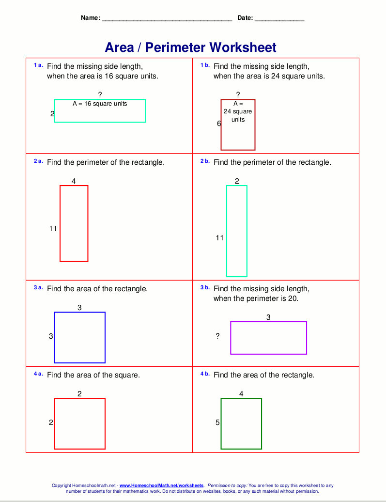 Perimeter Worksheets 3rd Grade 3rd Grade Math Staar Test Practice Worksheets Schools 4th