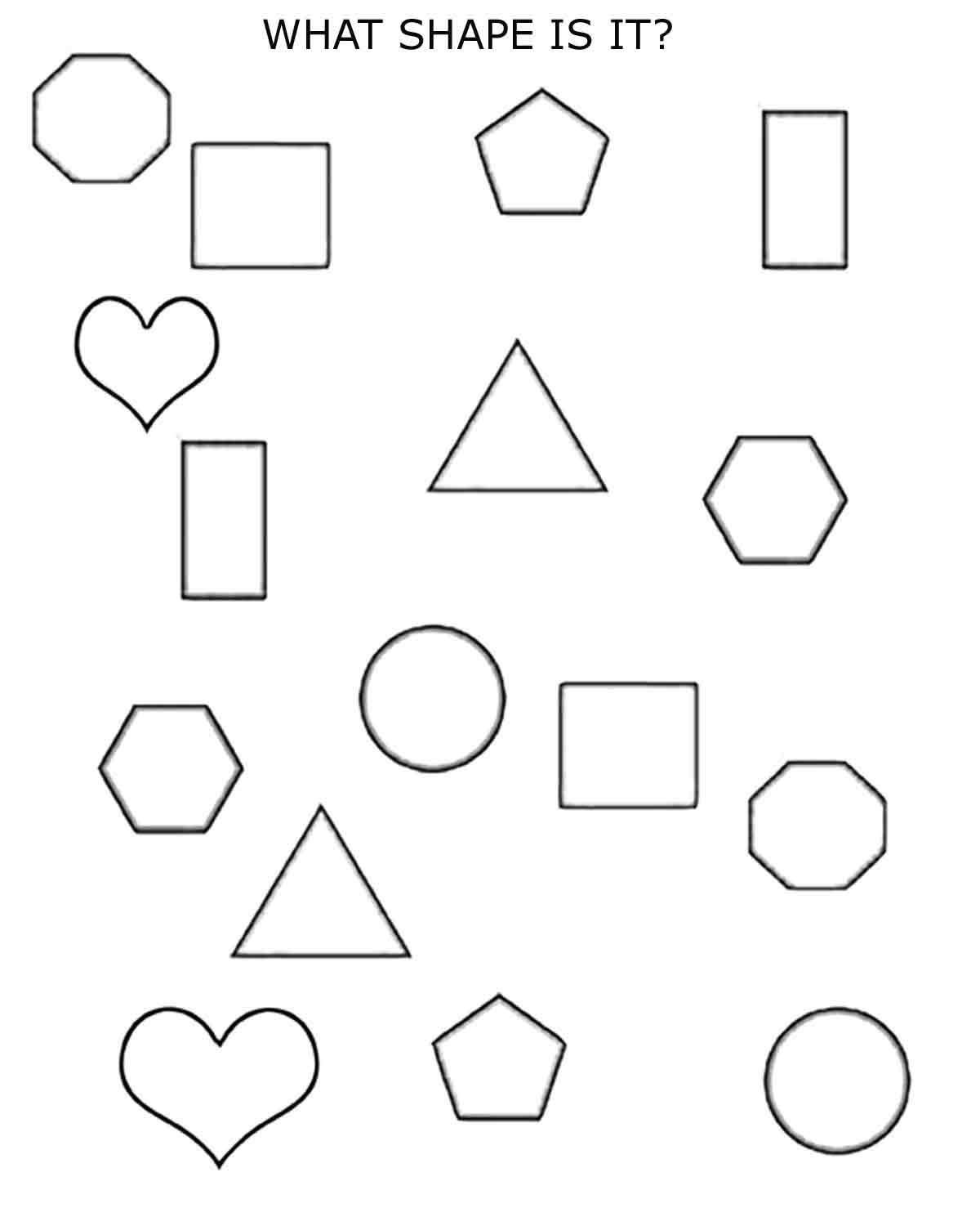 Polygon Worksheets 2nd Grade 2d Shapes 1st 2nd Grade Planet12sun Printables